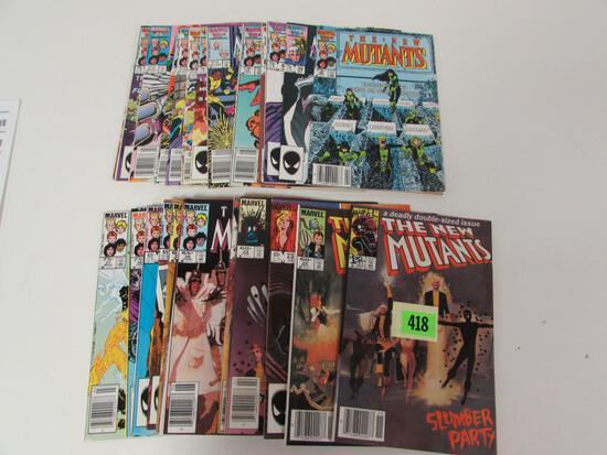 New Mutants Copper Run 21-50 Lot of (27)