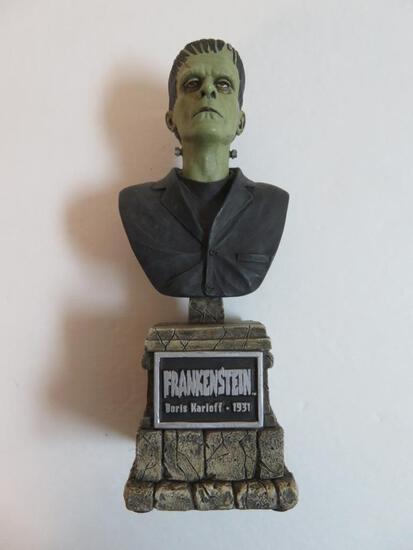 Frankenstein/Boris Karloff Bust Statue