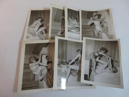 Irving Klaw Banned 1950's Pin-Up Photos
