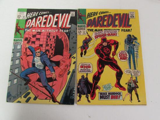 Daredevil #27 & 51 Silver Age Marvel