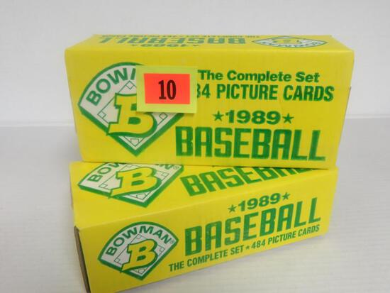 (2) 1989 Bowman Factory Sealed Sets (Ken Griffey Jr. RC)