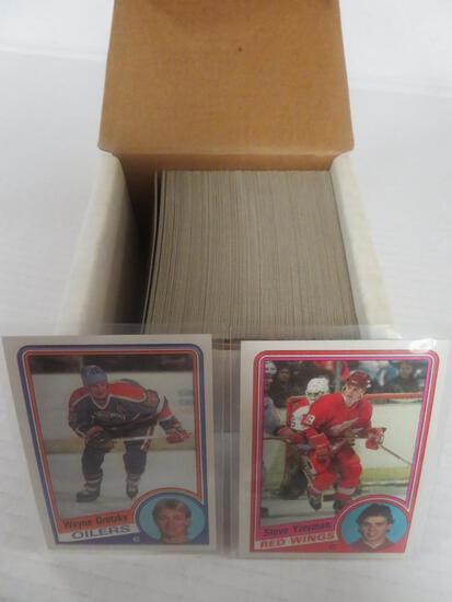 1984-85 Topps Hockey Complete Set (Yzerman RC)
