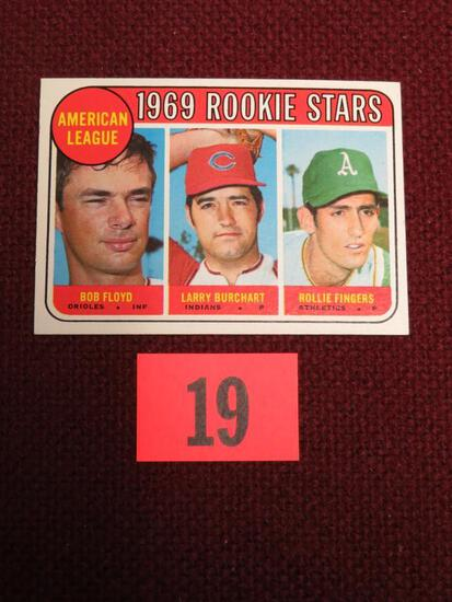 1969 Topps #597 Rollie Fingers RC