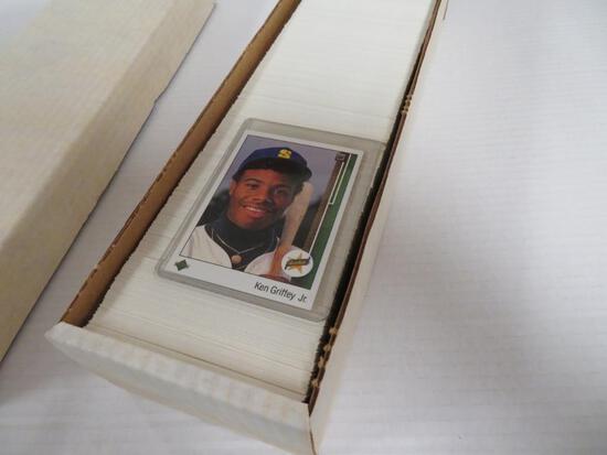 1989 Upper Deck Baseball Complete Set/ Ken Griffey Jr. RC