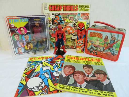 Pop Culture, Rock N Roll, Toys, Pin-Up & More