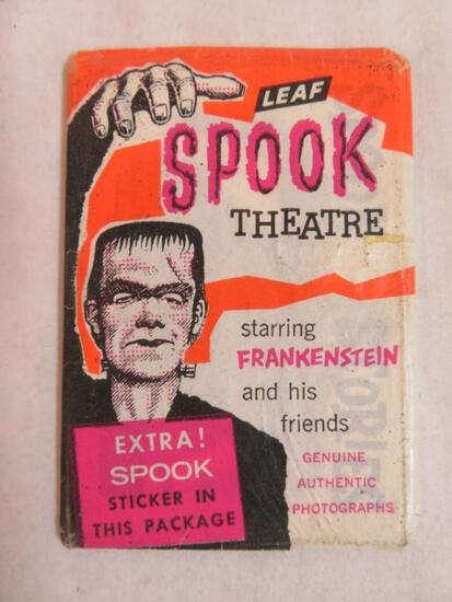 Vintage 1961 Leaf Spook Stories Wax Pack (Opened)