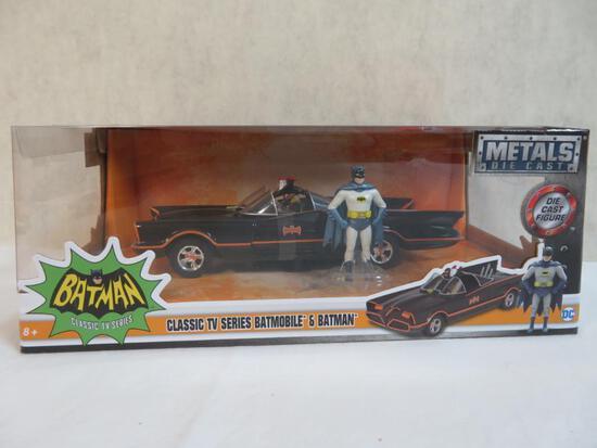 Jada Diecast 1:24 Classic TV Series Batmobile