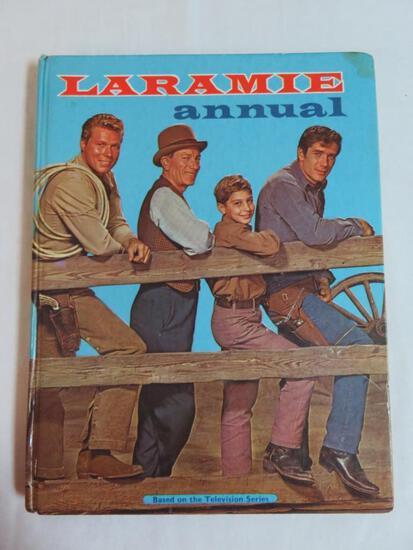 Laramie (1961) Annual Hardcover Book (British)