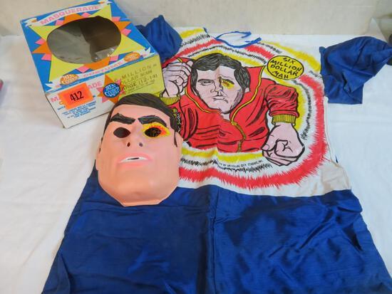 Vintage 1974 Ben Cooper 6 Million Dollar Man Costume