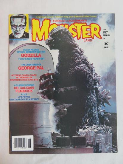 Famous Monsters of Filmland (June, 1985) Godzilla cover