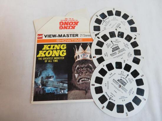 Vintage 1976 Viewmaster King Kong Reel Set in Orig. Envelope