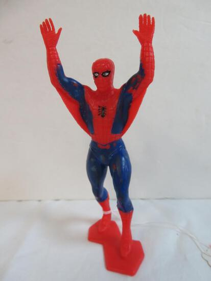 """Vintage 1960's/70's Spiderman 6"""" Plastic Figure"""