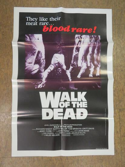 Walk of the Dead (1981) Horror Movie One Sheet Poster