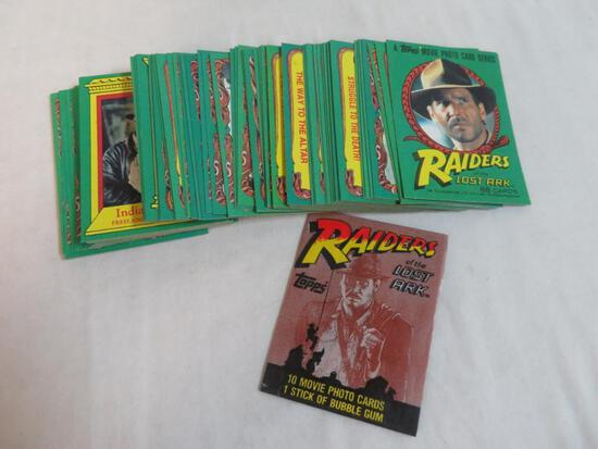 1981 Topps Raiders of the Lost ark Partial Set