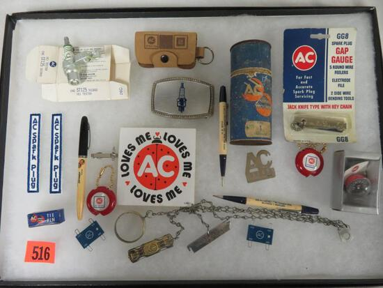 Excellent Lot of Vintage AC Spark Plug Items