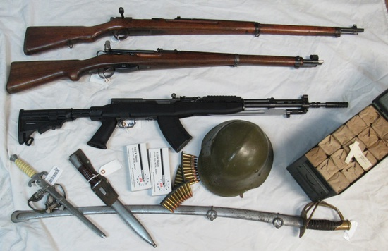 Huge Online Only Auction Military Firearms Ammo ++