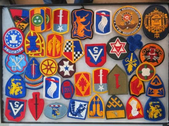 Lot of (40) United States Military Patches