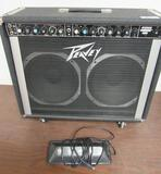 Peavey Chorus 400 Electric Guitar Amplifier w/ Footswitch Pedal