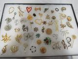 Huge Case Lot of Vintage Costume Jewelry (Mostly Brooches)