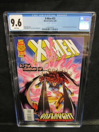 X-Men #53 (1996) Key 1st Onslaught HOT CGC 9.6