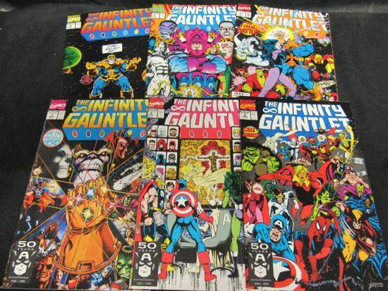 Infinity Gauntlet (1991, Marvel) Set 1-6 Complete