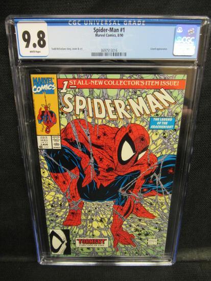 Spider-Man #1 (1990) Key 1st Issue/ Todd McFarlane HOT CGC 9.8