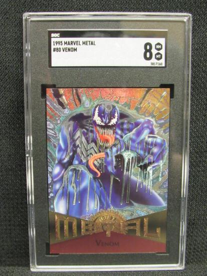 1995 Marvel Metal #80 Venom SGC 8 NM/MT