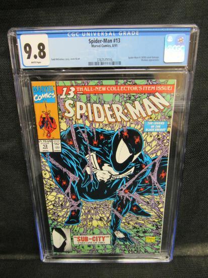 Spider-Man #13 (1991) Iconic Todd McFarlane Cover CGC 9.8