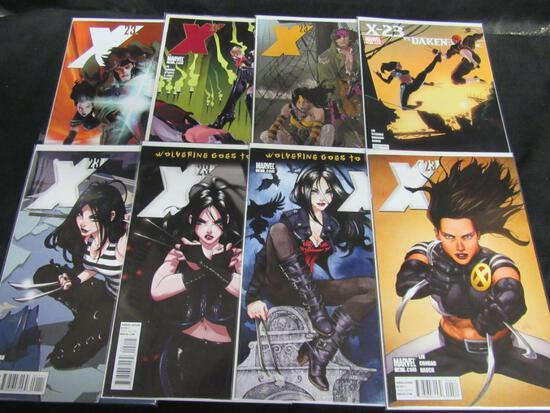 X-23 (2010) Marvel #1-8 Run HOT!
