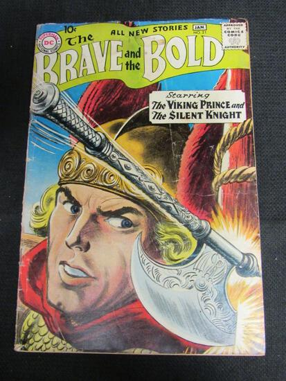 Brave and the Bold #21 (1958) Golden Age DC