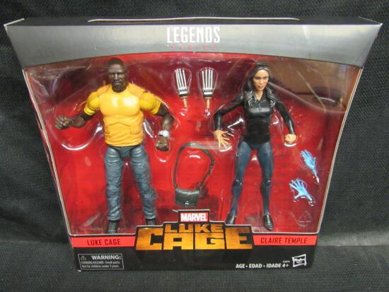 Marvel Legends 2-Pack Luke Cage/ Claire Temple Sealed MIB