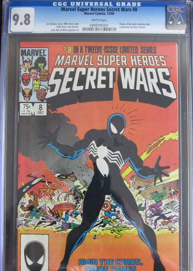 Massive Online Only Comic Book & Toy Auction