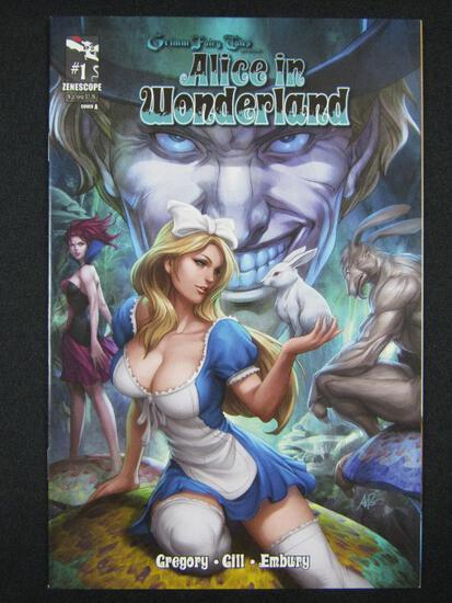 Grimm Fairy Tales: Alice in Wonderland #1 (2012) Artgerm Cover
