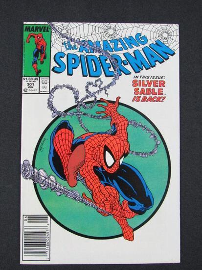 Amazing Spiderman #301 (1988) Key Issue/ McFarlane Newsstand