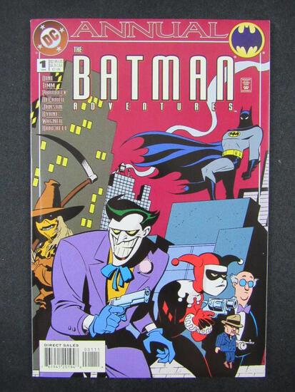Batman Adventures Annual #1 (1994) Key Early Harley Quinn/ 1st App. Roxy