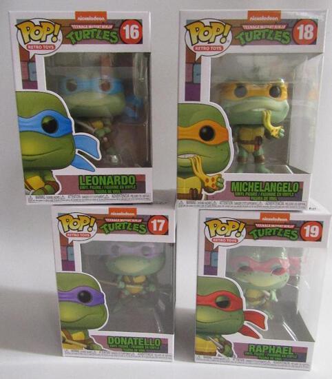 Funko Pop TMNT Teenage Mutant Ninja Turtles Set (4)