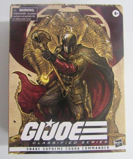 GI Joe Classified Series Snake Supreme Cobra Commander Figure