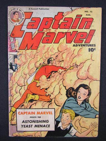 Captain Marvel Adventures #75 (1947) Golden Age Fawcett