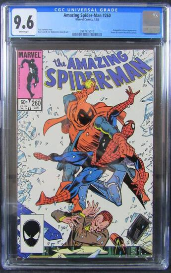 Amazing Spiderman #260 (1985) Classic Hobgoblin Battle Cover CGC 9.6