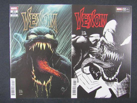 Venom (2018 Series) #27 & 29 Variant Covers