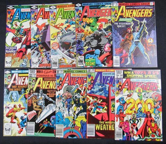 Avengers Bronze Age Lot (10)