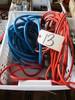 Shop light, ext. cord, hose