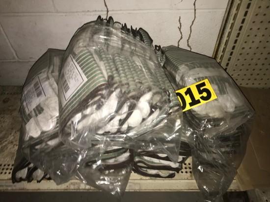 Lot of welding gloves