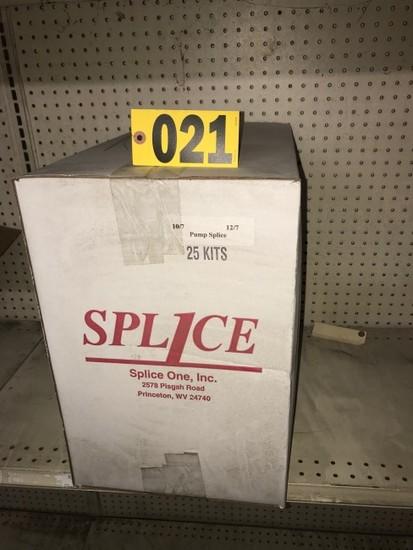 (1) Case Pump splice kits