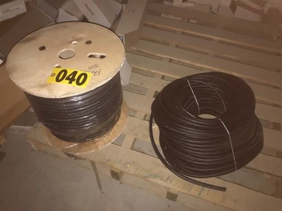 (2) Rolls of wire cable, 12 AWG