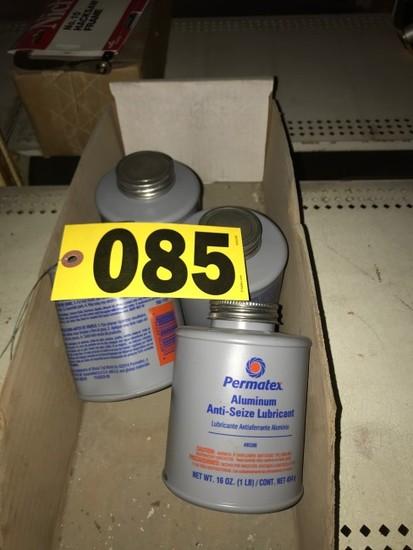 (4) Anti seize lube