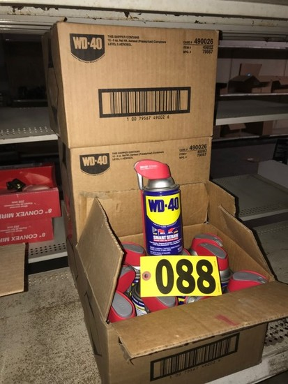 (4) Boxes WD40