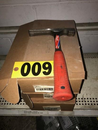 (3) Boxes 20oz. Plumb hammers