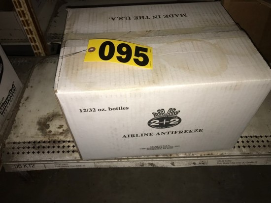 (1) Case airline antifreeze