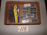 Irwin assorted taps & extractor sets 7/16